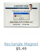 CTO Rectangle Magnet