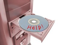 Beware the recovery disks!